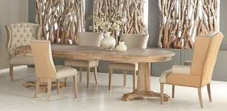 formal dining room furniture. Oval Extention Dining Table In Stone Wash Formal Room Furniture