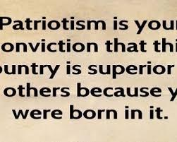 patriotism essay blind patriotism essay