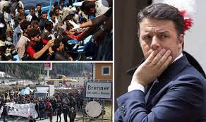 Image result for renzi and immigrants