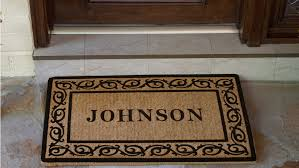 Personalized Door Mats - Excellent Gifts Having a Personalized Touch