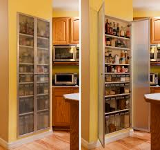 Cabinet Glass Styles Kitchen Pantry Cabinets With Glass Doors Design Porter