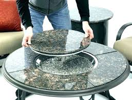 table top propane fire pit round propane fire pit table granite round table granite round table table top propane fire pit