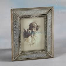 antique pewter with etched glass 5x7 photo frame