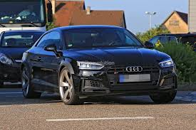 2018 audi s5. simple 2018 2018 audi rs5 coupe test mule camouflaged as s5 inside audi s5