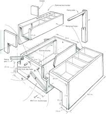 tool boxes tool box plans woodworking wooden tool tote images fine woodworking toolbox plans