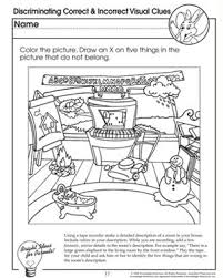 Cut and Create   Free Critical Thinking Worksheet for Kids