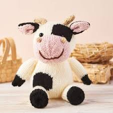 Maybe you would like to learn more about one of these? Knit Daisy The Cow Knitting Patterns Let S Knit Magazine