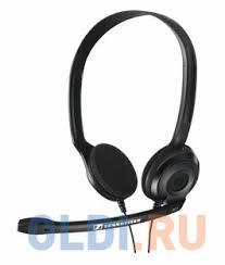 <b>Наушники</b> (гарнитура) <b>Sennheiser PC 3</b> Chat Black — купить по ...