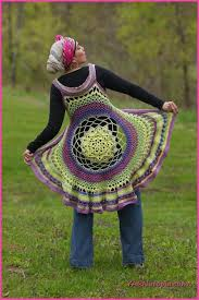 Crochet Circular Vest Pattern Free Enchanting Free Crochet Patterns By CatsRockinCrochet