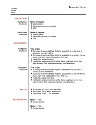 How To Get An Interview The Elements Of Work Fascinating How To Put A Resume Together