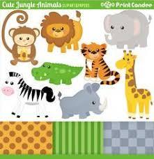 Safari Animals Template Free Printable Jungle Animals Jungle Animals Use For
