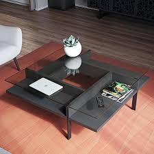 bdi coffee table the terrace square coffee table by in charcoal streamlined design bdi hokkaido coffee bdi coffee table