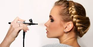 system airbrush makeup salon alcohol water or silicone hmm
