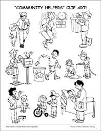 Community Helpers Chart Pdf Community Helpers Clip Art Printable Clip Art And Images