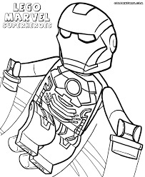 Small Picture Lego Marvel Superheroes Coloring Pages Miakenasnet