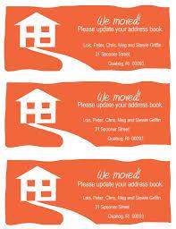 Free Change Of Address Free Change Of Address Resume Trakore Document Templates 13