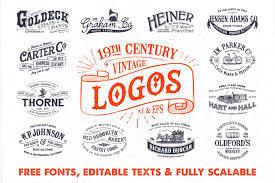 vintage furniture logo. Modren Vintage 19th Century Vintage Logos  1 Logos Logo Vintage Retro Intended Furniture Logo