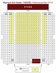 The Cabot Theater Seating Chart Keswick Seating Chart Seating Chart