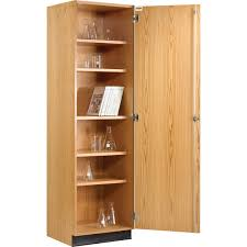 tall storage cabinet with solid door