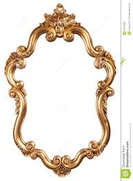 mirror frame outline. 960x1300 Antique Gold Frames Clipart Mirror Frame Outline