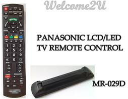 panasonic tv controller. panasonic lcd/led tv remote control tv controller 7