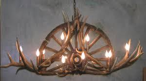 elk horn chandeliers antler lamps elk chandelier