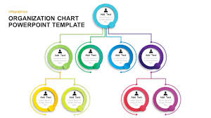 014 Simple Organizational Chart Template For Powerpoint
