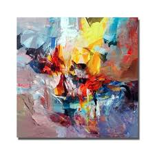 beautiful oil paintings on canvas modern abstract paintings living room wall modern artwork pretty color wall