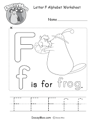 These no prep printable alphabet worksheets are great alphabet letter practice for preschoolers. Alphabet Worksheets Free Printables Doozy Moo