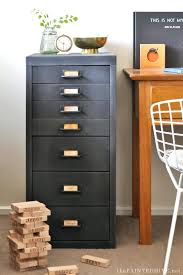 modern filing cabinet metal to farmhouse fab file makeover uk