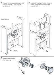 delta shower valve installation install shower valve installing a rite temp bath shower valve install delta