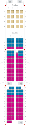 Airline Seat Size Chart Extra Comfort Seats