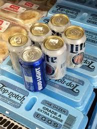 Miller Light Six Pack One Bud Light In A Miller Lite Six Pack Mildlyinteresting