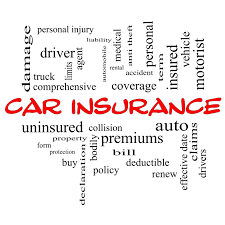 auto insurance terms to know
