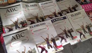Resultado de imagen para prensa española en latinoamerica