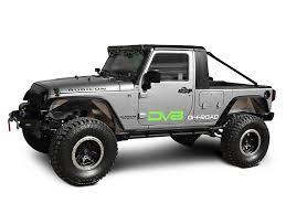 DV8 Off-Road Jeep Wrangler Truck Conversion HT07TC42 (07-18 Jeep ...