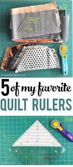 How to Use Quilting Rulers Properly   Quilting rulers, Tutorials ... & 5 of my Favorite Quilt Rulers!! Great tools to have on hand! Adamdwight.com