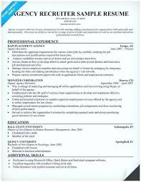 Staffing Specialist Resumes Recruiting Resume Examples Wikirian Com