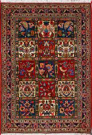 bakhtiari persian rug