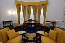nixon office. Hail To The Chief: A Life-size Replica Of Oval Office Where Former Nixon C