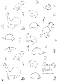 Personalized dinosaur coloring pages, 6 sheets, dinosaur birthday activities, dinosaur printable, dinosaur party activity, jurassic activity. 61 Free Coloring Sheets For Preschoolers Dino Picture Ideas Samsfriedchickenanddonuts