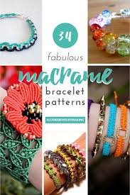 Macrame Bracelet Patterns Cool 48 Fabulous Macrame Bracelet Patterns AllFreeJewelryMaking