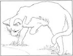 Small Picture Sleeping Warrior Cats Coloring Pages Coloring Coloring Pages