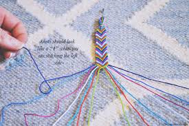 knotting basics making the chevron pattern