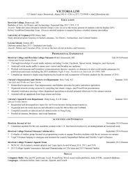 How To List Internship On Resume Bowdoin Career Planning Resumes 7