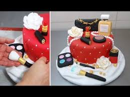 makeup fashion cake how to make torta maquillajes by cakesstepbystep you