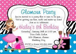 8th Birthday Party Invitations 8th Birthday Party Invitation Wording Luxury Invitation Card For