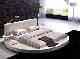 BedroomEngaging Leather Headboard Round Beds And White Circle Bacdcedfcecab  Ravishing Cool Round Beds Design Ideas For