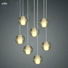 glass ball chandelier ball chandelier orion 16 light led rectangular floating glass ball chandelier