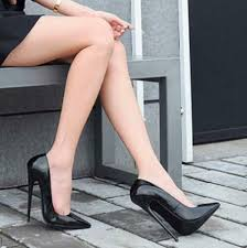 <b>Women</b> Sexy Patent Leather Stiletto High Heel Court Shoes Club ...